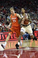 NCAA Basketball: Syracuse at Louisville