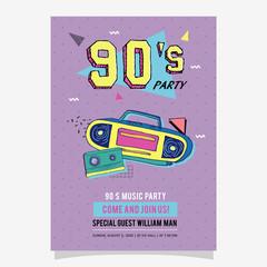 Search Photos S - 90s birthday invitation templates