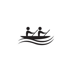 rowing icon. Elements of sportsman icon. Premium quality graphic design icon. Signs and symbols collection icon for websites, web design, mobile app