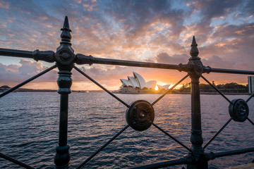Sunrise from Dawes Point