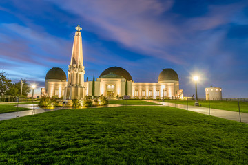 Griffith Observatory at Blue Hour