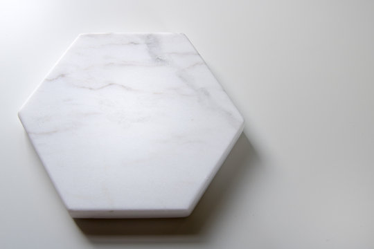 Marble coaster hexagon