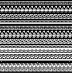 Seamless ethno tribal african pattern
