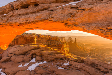 Golden Hour at Mesa Arch