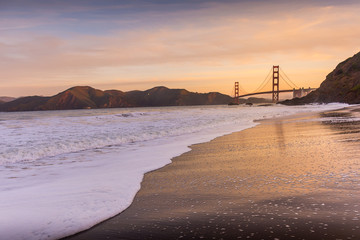 Baker Beach at Dawn