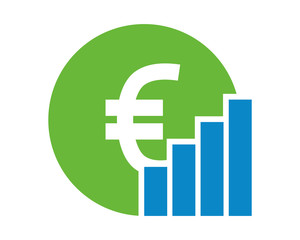 euro chart money currency price image vector icon logo symbol money currency price image vector icon logo symbol