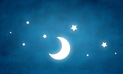 Night fantasy image