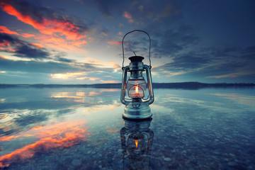 ein Licht zeigt den Weg