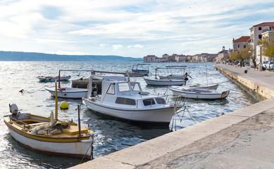 Small fishing boats, Kastel Stari