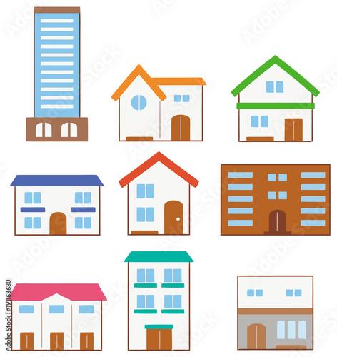 様々な建物のイラストfotoliacom の ストック画像とロイヤリティフリー