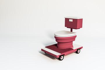 wc on wheels