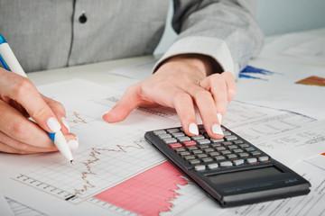 Business analyst working