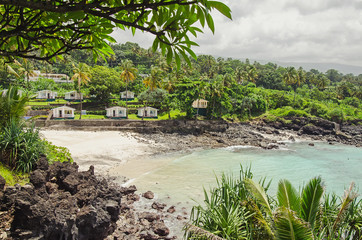 Beatiful bay in Moroni, Comoros