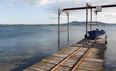 Bassin de Thau - ostreiculture - Herault -Occitanie