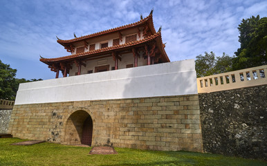 Historic City South Gate in Tainan (Taiwan)