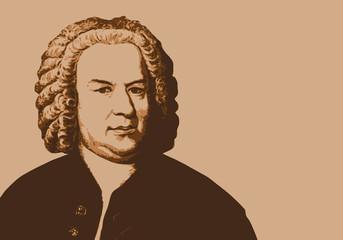 Bach - musicien - portrait - personnage historique -musique - personnage célèbre -musique classique