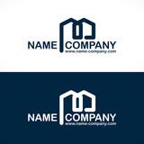 Logo constructeur fichier vectoriel libre de droits sur for Architecte maitre d oeuvre ou constructeur