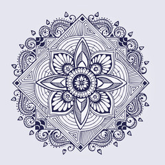 Vector mandala. Clip art