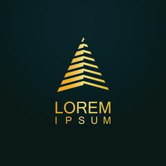 gold triangle logo