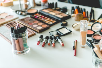Make up, beauty products