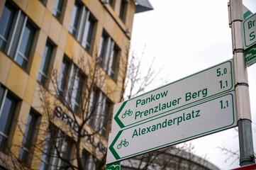 Alexanderplatz in bicicletta