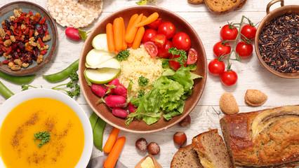 health food banner