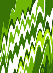 Retro style green and white background.