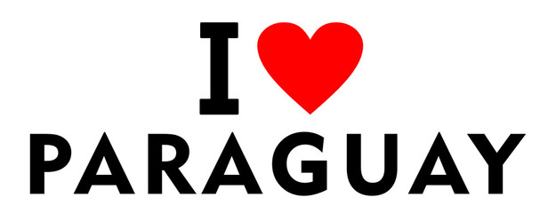 I love Paraguay