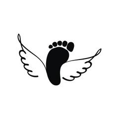 ноги с крыльями