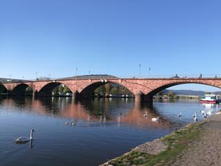 Miltenberg am Main mit Mainbrücke