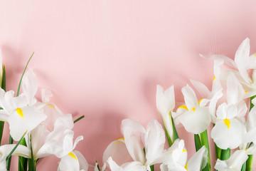Bouquet of Beautiful Iris Flowers
