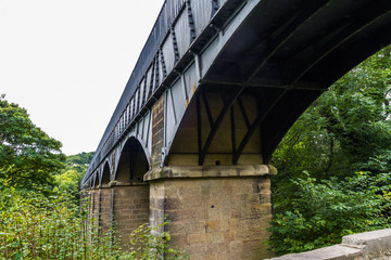 Arches of the pontcysyllte aqueduct