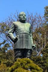 西郷どんの銅像