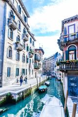 street canal Venice Italy