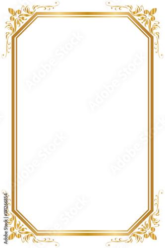 Decorative frame and border for design of birthday and greeting card decorative frame and border for design of birthday and greeting card wedding golden frame m4hsunfo