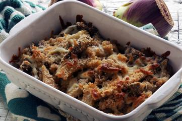 Cynara scolymus with arroz o gebackenes Risotto mit artischocken Rice cuit aux artichauts Bakad risotti med kronärtskockor al horno con alcachofas