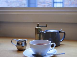 カフェでお茶 イメージ