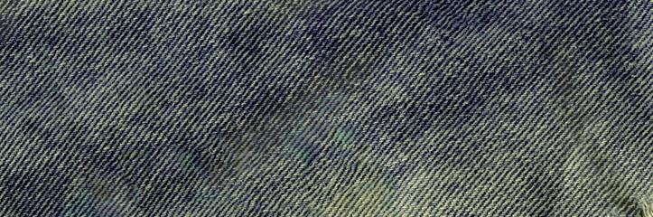 Closeup view blue natural clean denim texture.