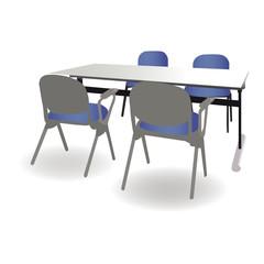 商談テーブル