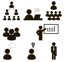 Business People teamwork ,Vector illustration