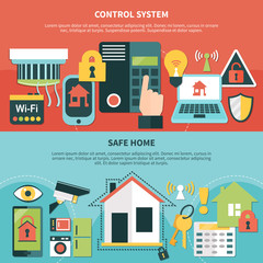 Control System Safe Home Banners