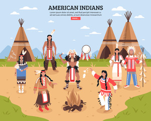 American Indians Poster
