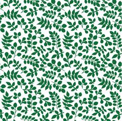 Лист зеленый