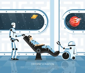 Space Tourism Futurology Illustration