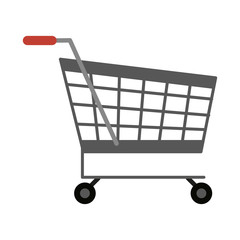 Shopping cart symbol icon vector illustration graphic design
