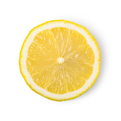 ripe lemon fruit