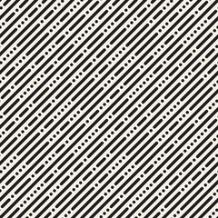 Vector seamless stripes pattern. Modern stylish texture with monochrome trellis. Repeating geometric grid. Simple lattice design.