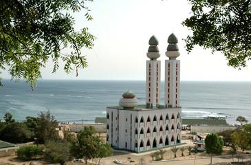 Mosquée de la Divinité au bord de l'eau, Dakar, Sénégal