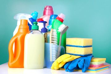 Sanitary household cleaning items,domestic supplies.