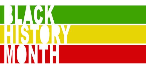 Black History Month - Copyspace